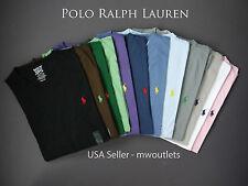 Polo Ralph Lauren MENS V-NECK CLASSIC FIT T-SHIRT Short Sleeve Pony Tee