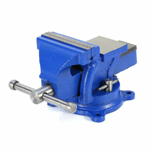 "4/"" Mechanic Bench Vise Table Top Clamp Press Locking Swivel Base Heavy Duty US"