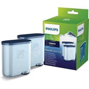 Confezione-doppia-Cartuccia-filtro-acqua-Macchina-caffe-Saeco-Espresso-Philips