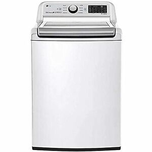 LG WT7300CW 5 Cu.Ft. White Electric Top Load Smart Washer