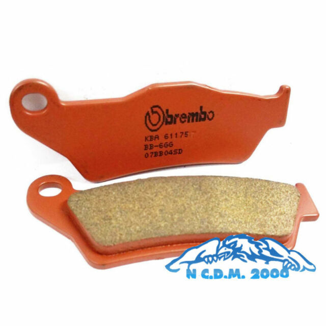 Rear Brake Pads Brembo Sintered 07BB04SD BMW HP2 Sport 1200 2015