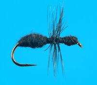 Black Fur Ant, 6 Pcs. Size 24