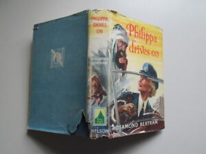 Good-PHILIPPA-DRIVES-ON-Bertram-Rosamond-Dustjacket-has-been-price-clipped