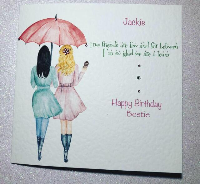 Stupendous Birthday Card Best Friend Card Friendship Love Friend Card Funny Birthday Cards Online Inifodamsfinfo