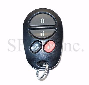oem 00 09 toyota solara avalon keyless entry remote fob tranmitter gq43vt20t ebay. Black Bedroom Furniture Sets. Home Design Ideas
