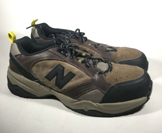 5692cd30 M3922L PreOwned Men's New Balance MID627O Steel Toe Work Shoe US 12 2E