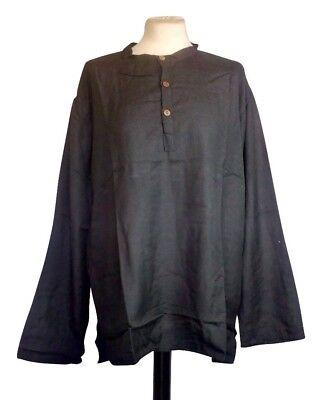 """Camicia Da Uomo Medievale Larp Rievocazione In 4 Colori 36"""" -42"""" Sul Petto Vecchio Stock Ridotto-mostra Il Titolo Originale"""