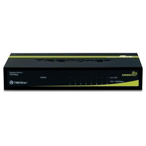 NEW TRENDnet TEG-S80G TEG-S80g Gigabit Ethernet Switch 8 port 10 100 1000Mbps GB