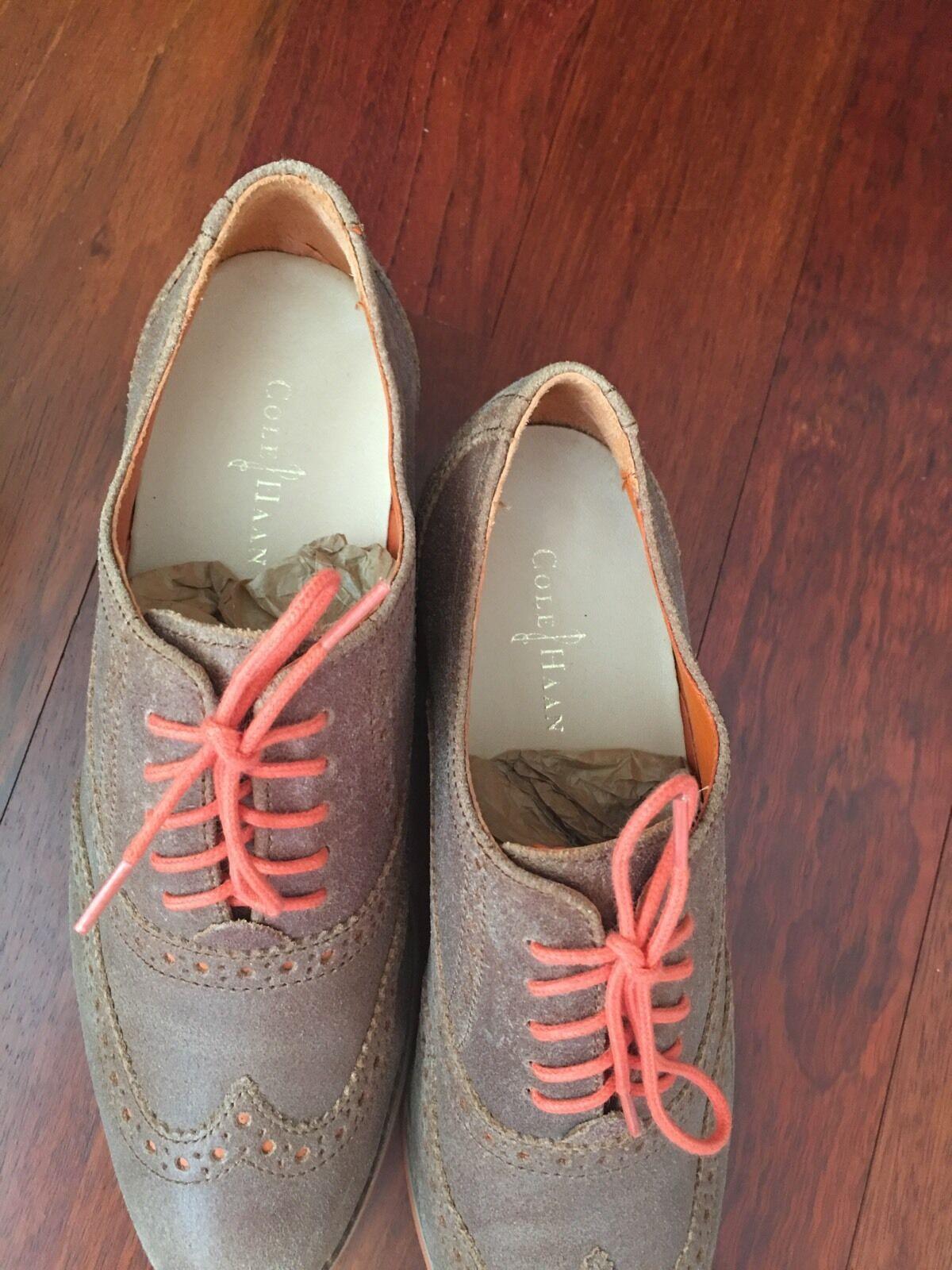 Cole Haan 6 Alisa Oxfords, Sequoia/Naranja, 6 Haan 0818f9