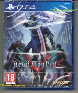 DEVIL-MAY-CRY-5-034-NUOVO-amp-Sealed-039-PS4-quattro