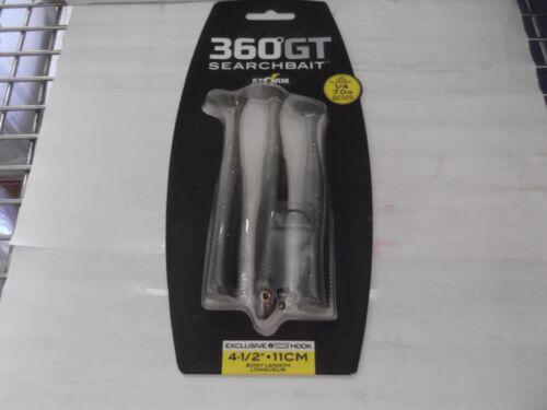 Storm 360GT Searchbait SBM45H  Paddle Tail 4.5in 1//4oz 4//0 Kit