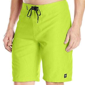 4a5955640343d E829 - Rip Curl Dawn Patrol Board Shorts - NWT Mens 34 Lime Green ...