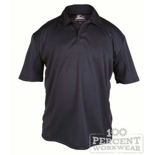 Polyester Breathable Moisture Wicking Short Sleeve Work Polo Shirt Top Collar