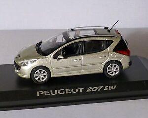 Peugeot 207 Sw Grau-beige-metallic, 1:43, Norev