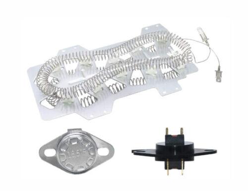 Dryer Heating Element For Samsung DV5451AEW//XA004 DV42H5200EP//A3 DV45H7000E