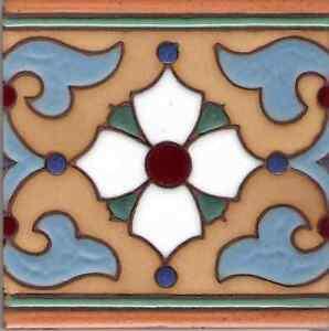 Image Is Loading Spanish Ceramic Tile Khalili 039 C 6