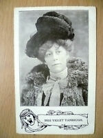 Postcard- Theater Actresses MISS VIOLET VANBRUGH.