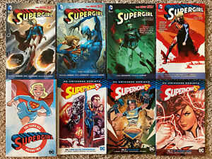 Supergirl-TPB-Graphic-Novel-Lot-New-52-Rebirth-Vol-1-2-3-4-Silver-Age-Superman