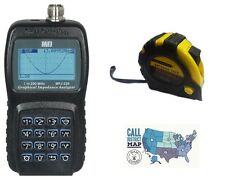 MFJ-226 HF/VHF/220MHz Graphical Antenna Analyzer w/ FREE Radiowavz Antenna Tape