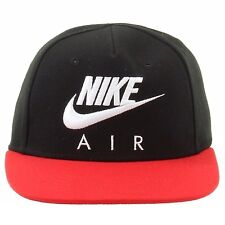 item 1 NIKE AIR YOUTH BOY S NAN FLAT BRIM SNAPBACK BASEBALL CAP HAT RED  BLACK SZ  4-7 -NIKE AIR YOUTH BOY S NAN FLAT BRIM SNAPBACK BASEBALL CAP HAT  RED ... 3d6a20101a5