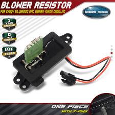 Blower Motor Resistor for Chevrolet Silverado 1500 2500 Tahoe GMC Sierra Yukon