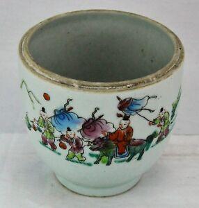 Antique-Chinese-brush-pot-4-x-4-Qianlong-Nian-Zhi-mark-BI-MK-180225