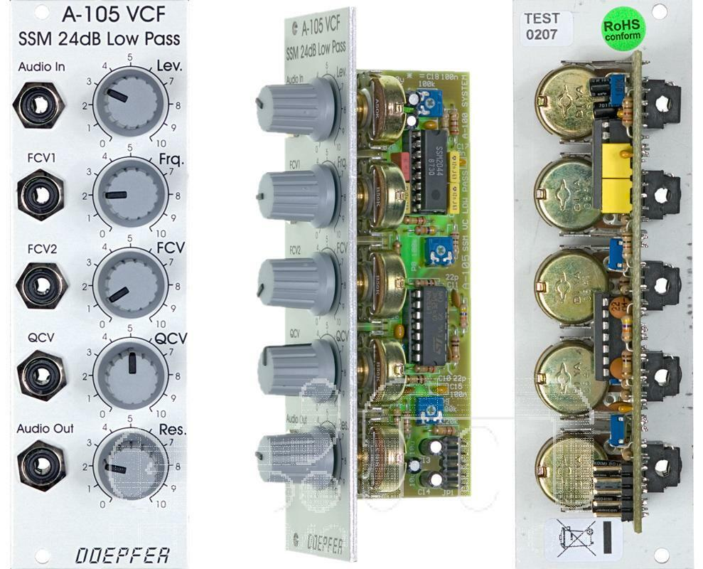 Doepfer A-105 24dB Ssm Tiefpass Filter  Eurorack  Neu Detroit Modular]
