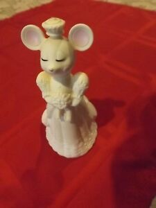 Vintage Avon Church Mouse Bride Cologne Bottle Ebay