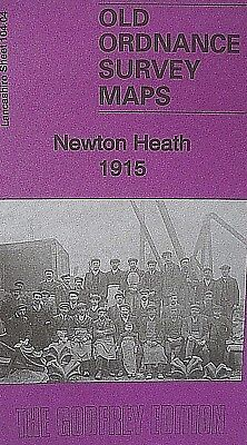 OLD ORDNANCE SURVEY MAP NEWTON HEATH 1931 MANCHESTER HAGUE STREET ALDRED STREET