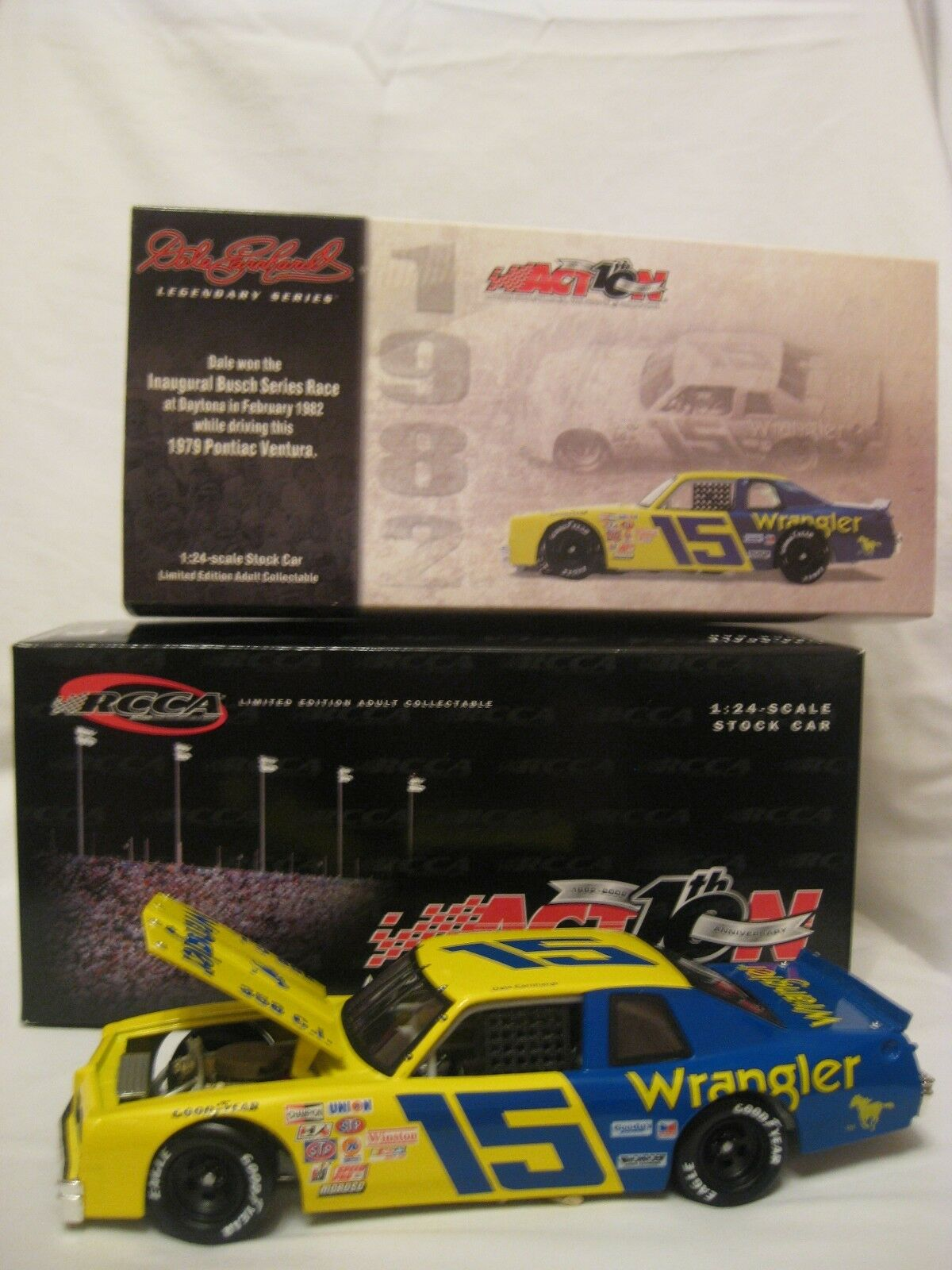 salida 1979 Wrangler Wrangler Wrangler Pontiac  15 Dale Earnhardt Sr 1 24 Diecast Coleccionables coche  deportes calientes