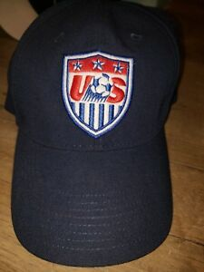 Vintage Late 90s Nike USA US Soccer Chinstrap Hat - Size Large -Made ... b4d19e77be4