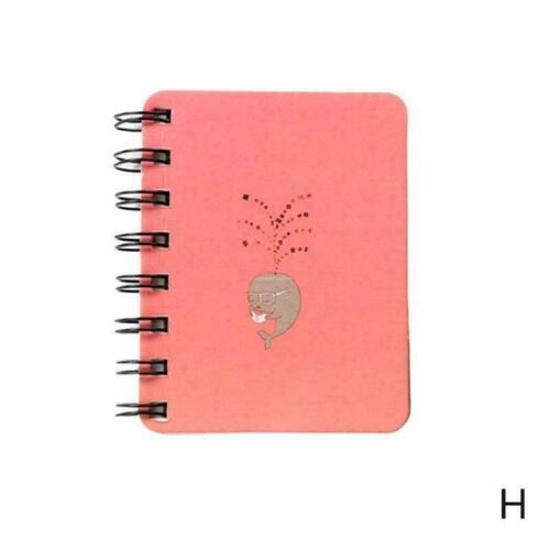 Mini Notebooks Hinweis Notizblöcke Pocket Book Kind Tiere Karikatur Notiz S I9D6