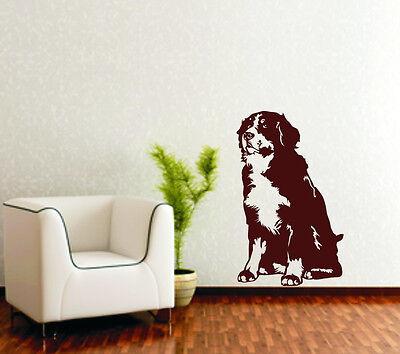 Wandtattoo Greater Swiss Mountain Dog Großer Schweizer Sennenhund H209 Tatze