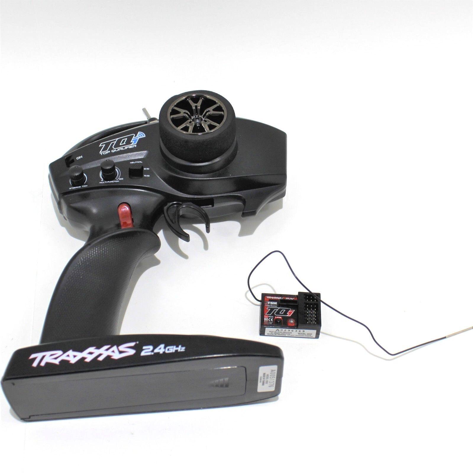 Traxxas Tqi Trx TRX4 azultooth 2.4ghz 4 Canales Transmisor Receptor defender 5