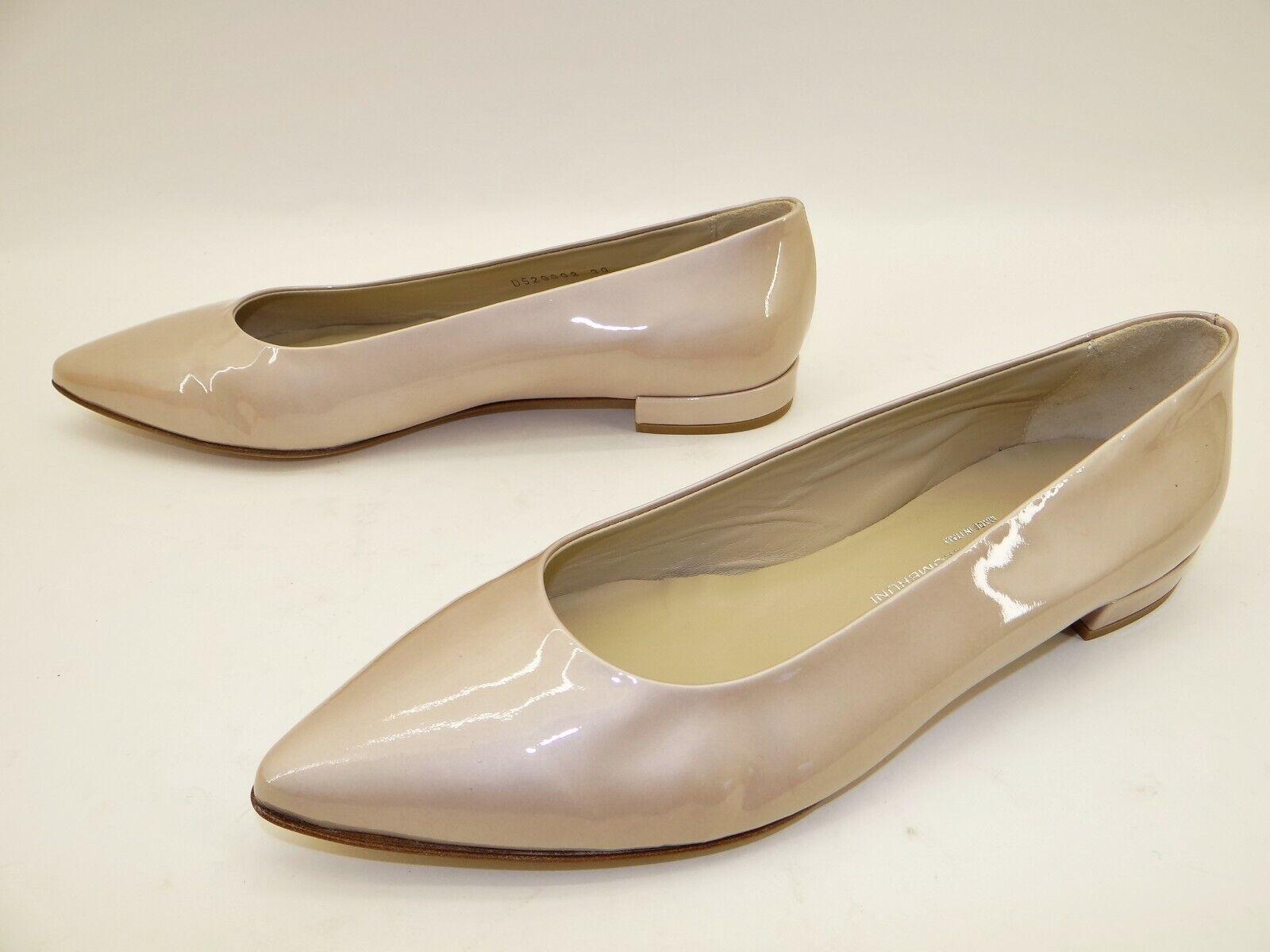 Luxus AGL Attilio Giusti Leombruni Damen Schuhe Flats Ballerinas Gr. 38,5  Beige