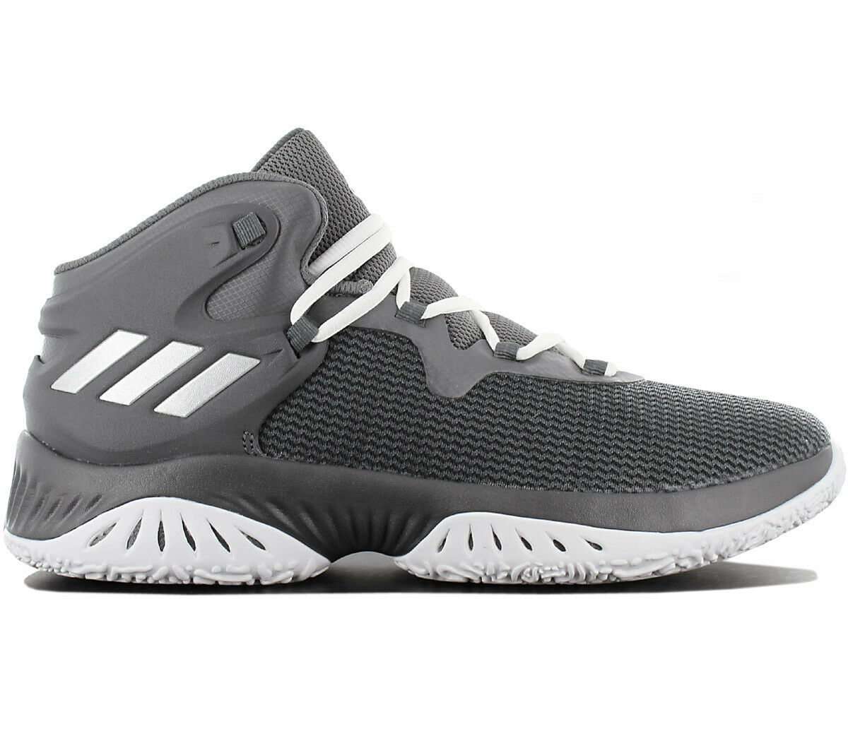 Adidas Explosive Bounce Men's Basketballshoe Basketball shoes Grey By3779