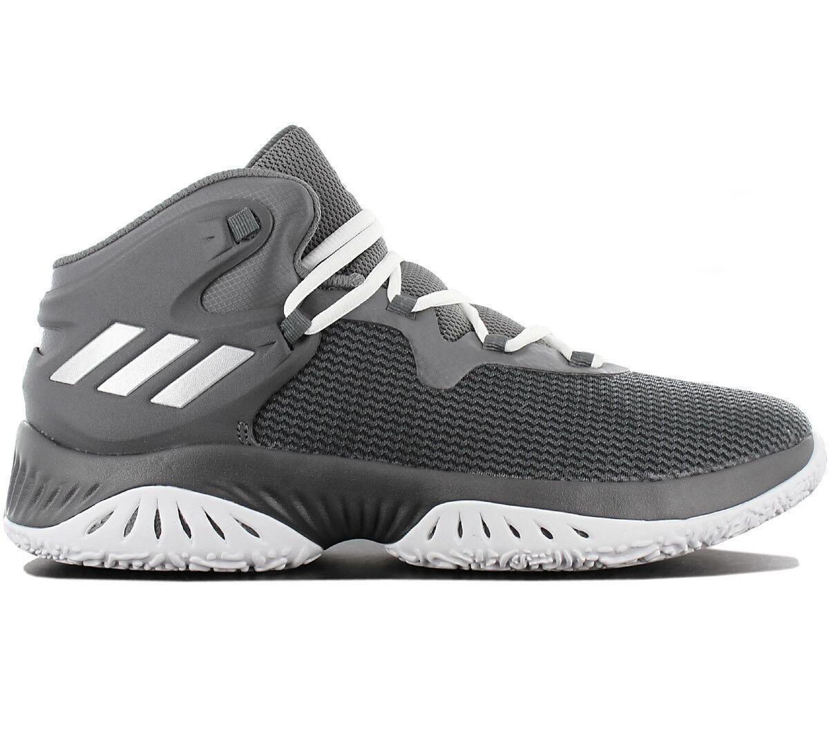 Adidas Explosive Bounce Men's Basketballshoe Basketball shoes Grey By3779