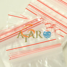 "6x7.5"" Zip Lock Bags 45pcs Seal Self Pouch Storage for Jewelry & Gemstone"