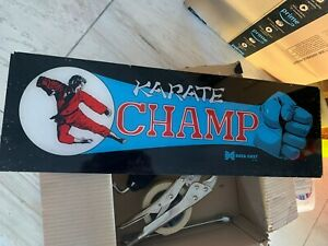 Karate-Champ-Original-Marquee-Data-East