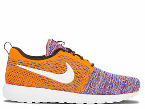 best loved 96a3c 36db9 Image is loading Nike-Flyknit-Rosherun-039-Random-Yarn-039-Multicolor-