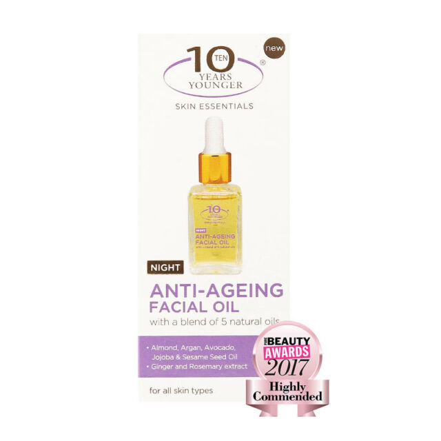 10 Years Younger Anti Aging Facial Oil 30ml