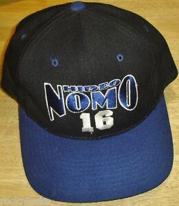 39752b89755 HIDEO NOMO hat Los Angeles Dodgers Vintage 90 s Snapback cap MLB ...