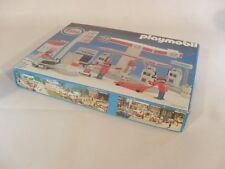 PLAYMOBIL 3439 ESSO TANKSTELLE / 1981 / KLICKY / INKL. ORIGINAL BOX / MIB / OVP