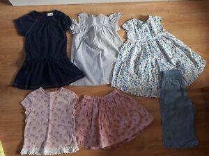 Filles-4-5-ans-100-L-039-ete-prochain-tenues-robes-Tops-Jupe-Bundle-Holiday