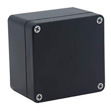 Raculety Project Box Ip65 Waterproof Junction Box Abs Plastic Black Electrical