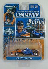 GreenLight 1//18 2018 #9 Scott Dixon 2018 Verizon IndyCar Series Champion 11053