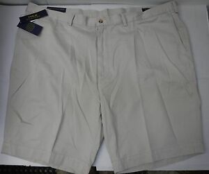 Polo Ralph Lauren Size 42 T Classic Fit Khaki New Mens Shorts