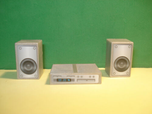 PLAYMOBIL EQUIPMENT MUSIC WITH SPEAKERS ¡ CONDITION NEW
