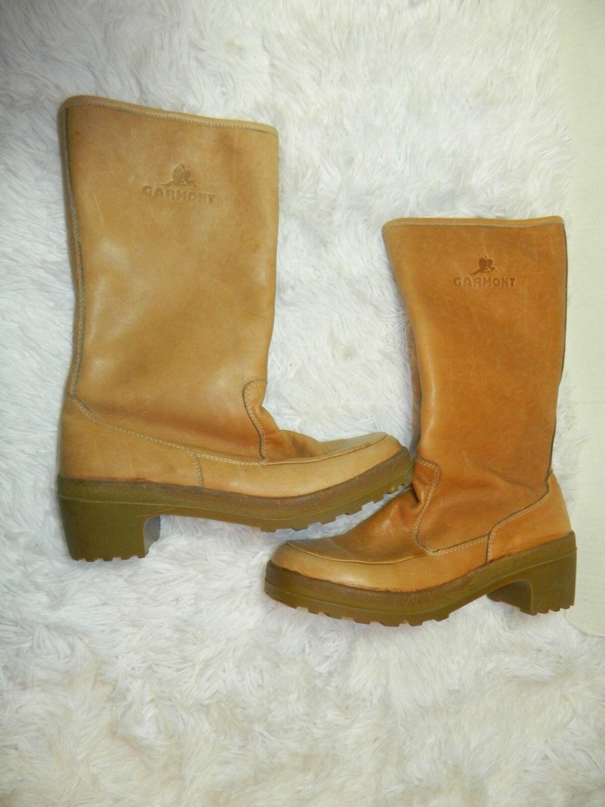 Obtén lo ultimo Garmont botas botas botas de cuero marrón alto Sherpa Piel Vanessa Mujer Hecho En Italia  A la venta con descuento del 70%.