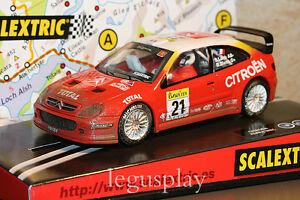 Slot-SCX-Scalextric-6104-Citroen-Xsara-WRC-034-Efecto-agua-034-N-21-New